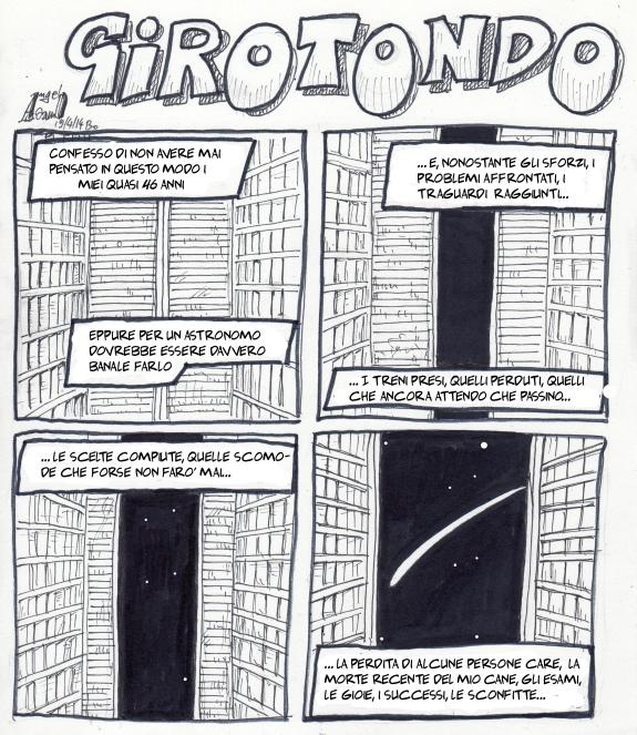 Girotondo pagina 1 con testo finito