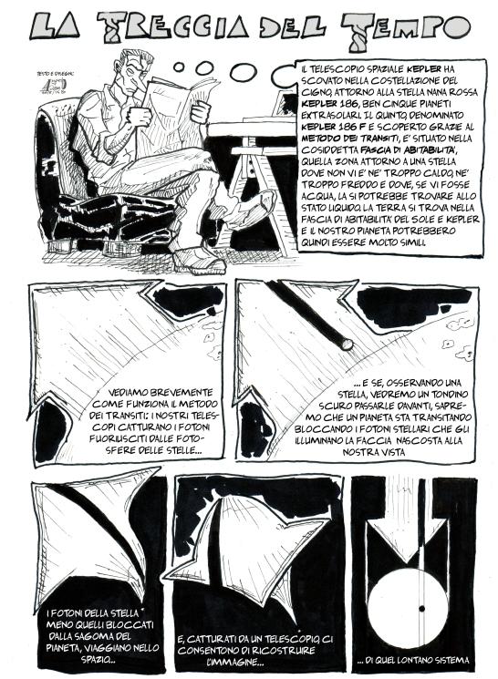 Prima pagina la treccia del tempo titolo colore