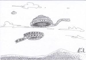 """Illustrazione pubblicata la prima volta nel Dossier """"La vita nell'Universo"""", http://www.torinoscienza.it/dossier/la_vita_nell_universo_2517.html"""
