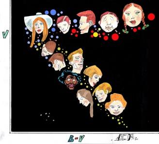 """Questa illustrazione è stata pubblicata per la prima volta sulla rivista """"Le Stelle"""" nell'anno 2012"""