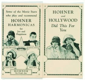 Bild 10 Hohner and Hollywood 1923